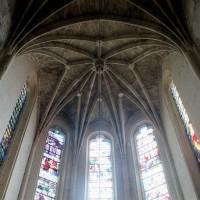 Vue de l'abside et de sa voûte (2002)
