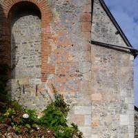 Vue partielle de la chapelle nord du choeur depuis l'est (2016)