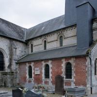 Vue partielle de l'église depuis le nord-ouest (2006)