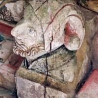 Blochet de la charpente du choeur (2005)