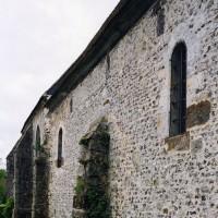 Le mur nord de la nef vu du nord-ouest (2005)