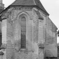 L'abside vue du sud-est (1979)
