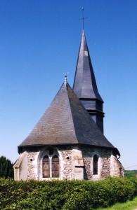 L'église vue de l'est (2005)