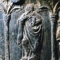 Détail de la cuve baptismale (2005)