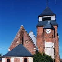 L'église vue de l'est (2004)
