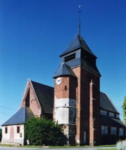 L'église vue du nord-ouest (2004)