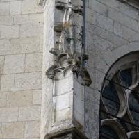 Décor d'un contrefort de l'abside (2016)