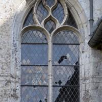 Fenêtre ouest de la chapelle nord du choeur (2016)