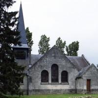 L'église vue du sud (2006)