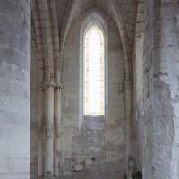 La seconde travée de la chapelle nord vue vers le nord (2008)