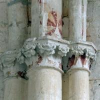 Chapiteaux de la chapelle nord (2008)