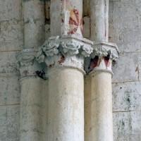 Retombée des voûtes de la chapelle nord (2008)