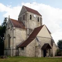 L'église vue du nord-ouest (2019)