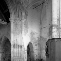 Le bras nord du transept vu vers le nord-ouest (1996)