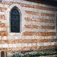 Vue partielle du mur sud de la nef depuis le sud-ouest (2003)