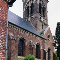 Vue partielle de l'église depuis le sud-ouest (2003)