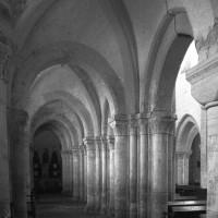 Le bas-côté nord de la nef vu vers l'est (1996)