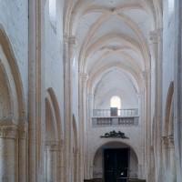 La nef vue vers l'ouest (2001)
