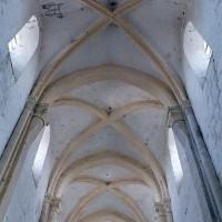 Les voûtes de la nef vues vers l'ouest (2001)
