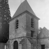 Le clocher vu du sud-ouest (1997)