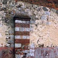 Détail du mur nord de la nef (2003)