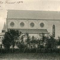 L'église en 1914