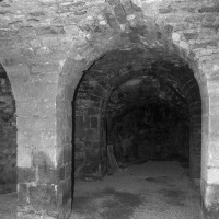 Vue partielle de la crypte