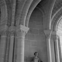 Détails de la voûte d'une chapelle sud-est du déambulatoire (1986)