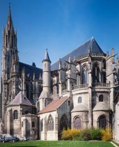 La cathédrale vue du sud-est (1993)
