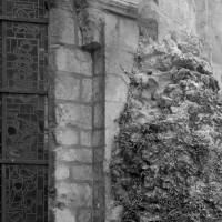 Arrachements de la muraille gallo-romaine à la chapelle nord-est du déambulatoire (1986)