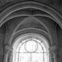 Voûte d'une chapelle sud-est du déambulatoire (1986)