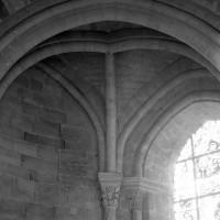 Voûte d'une chapelle nord-est du déambulatoire (1986)
