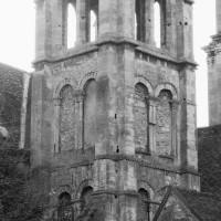 Le clocher nord vu du nord-ouest (1994)