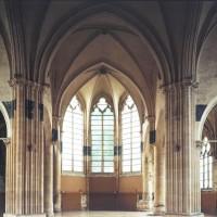 Le transept et le choeur vu vers l'est (1993)