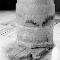 Base de la pile sud de la travée droite du choeur (1993)
