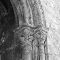 Retombée de l'arcade ouest du bras nord du transept (1993)