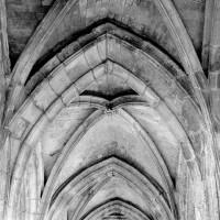 Voûtes d'un bas-côté de la nef (1993)