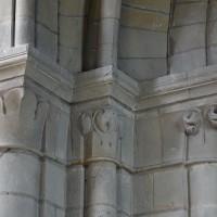 Chapiteaux du bas-côté nord de la nef (2018)