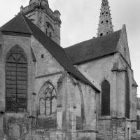 Vue partielle de l'église depuis le nord-est (1993)