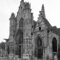 La façade ouest vue du sud-ouest (1993)