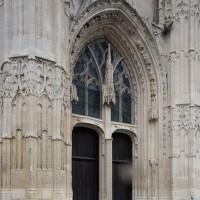 Le portail central de la façade ouest (2018)