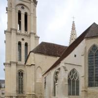 Vue partielle de l'église depuis le sud-est (2018)