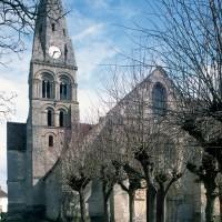 L'église vue de l'ouest (1996)