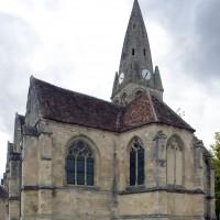 L'église vue du sud-est (2014)
