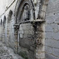 Les arcatures aveugles et le portail de la façade ouest (2017)