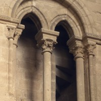 Baie de la fausse tribune du mur ouest du bras sud du transept (1996)