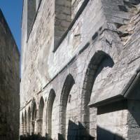 Vue partielle de la façade ouest depuis le sud-ouest (1996)