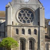 La façade sud du transept (2017)