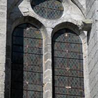 Fenêtre à l'est du bras nord du transept (2017)