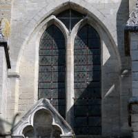 Fenêtre du mur sud de la nef (2017)